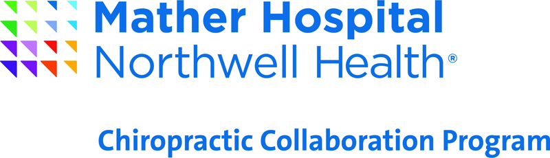 Mather Hospital Northwell Health Chiropractic Collaboration Program Logo