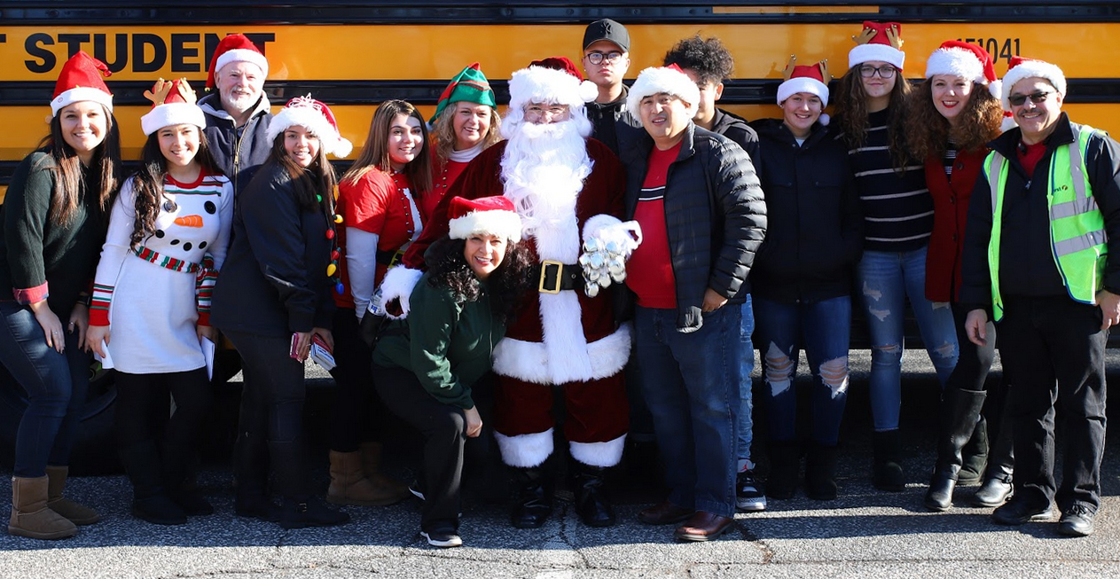 Kids Need More Holiday Bus